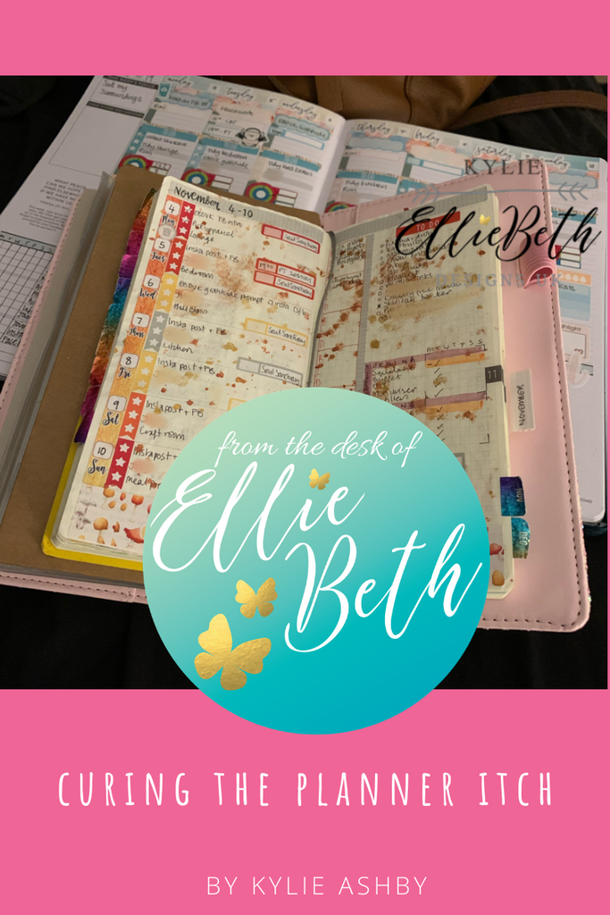 Curing the Planner itch