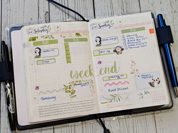 Hobonichi Techno dailies
