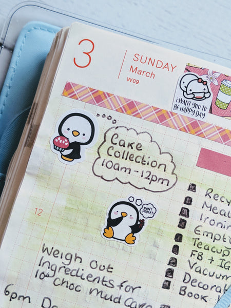 Hobonichi Techo with EllieBeth Stickers