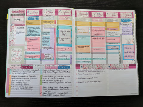 Colour Blocking in a Passion Planner