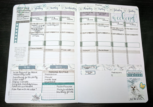 Passion Planner white space planning