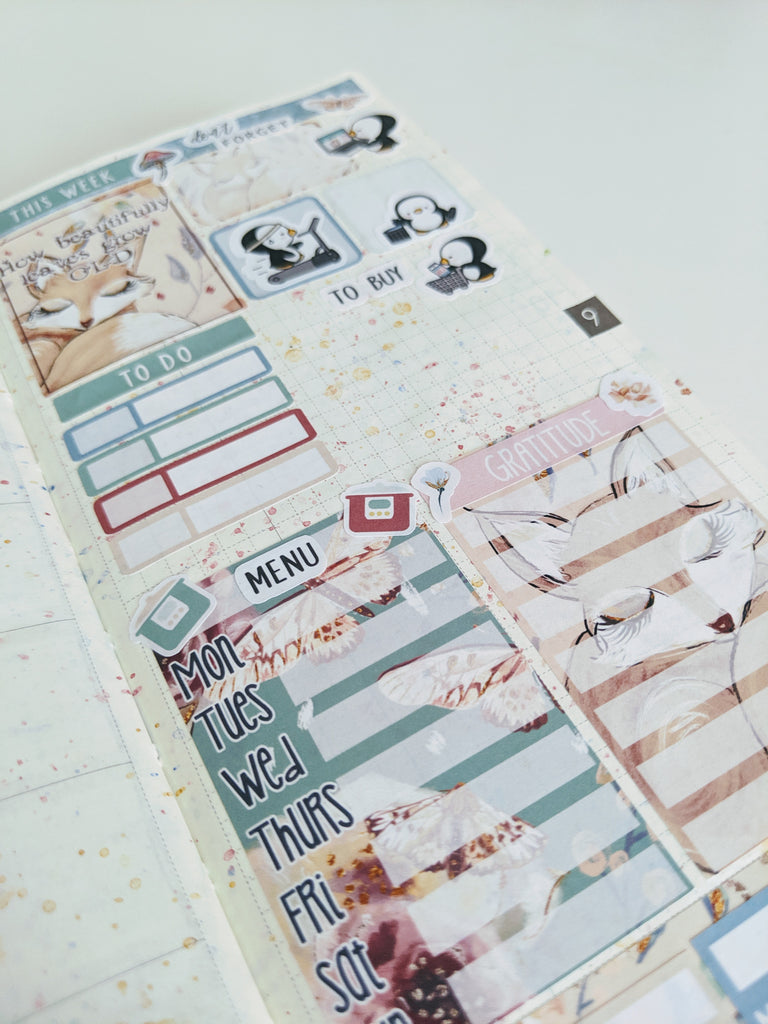 Mini Weeks sheets from EBDUK