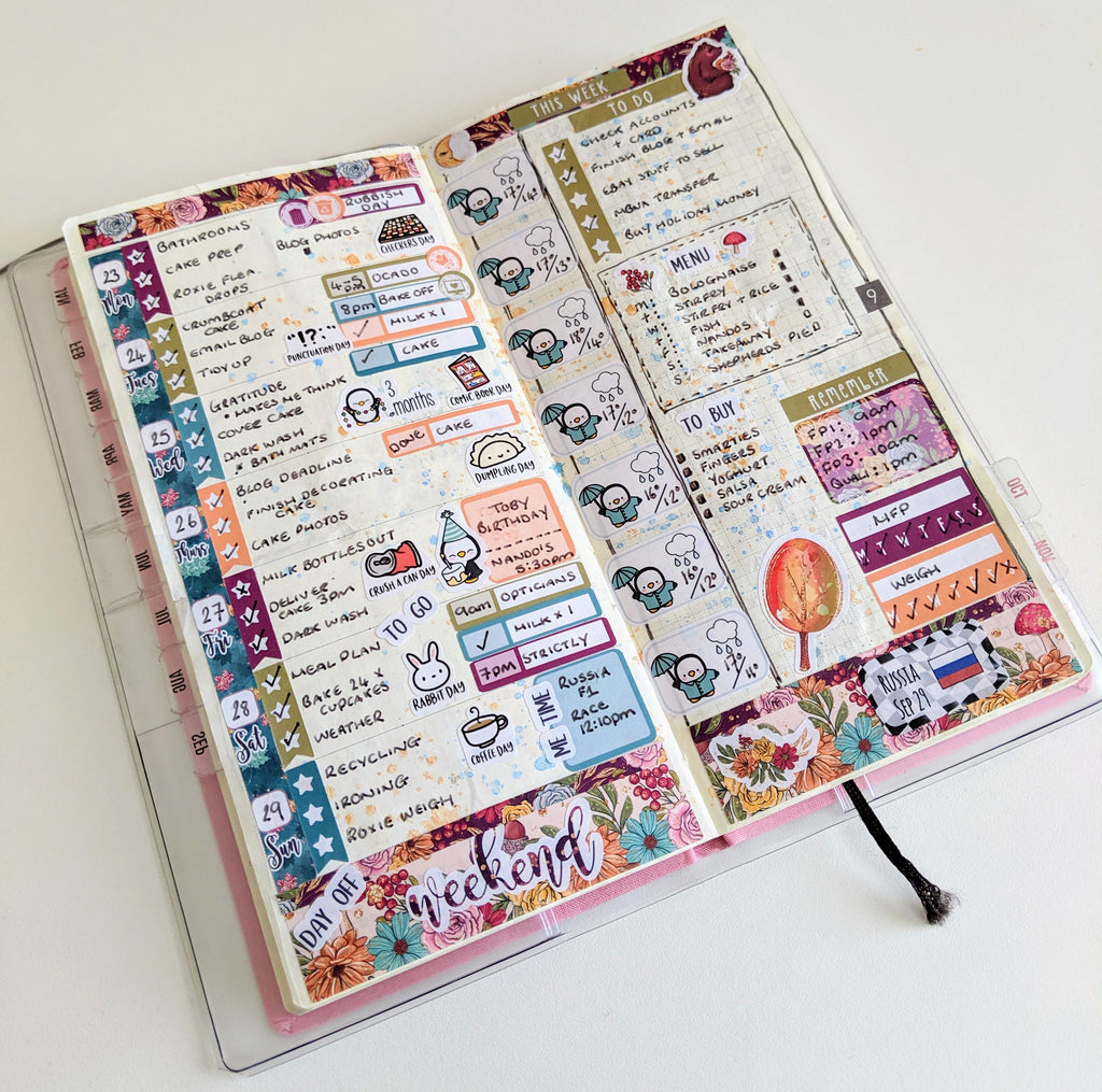 Hobonichi weeks by Sophie Ball