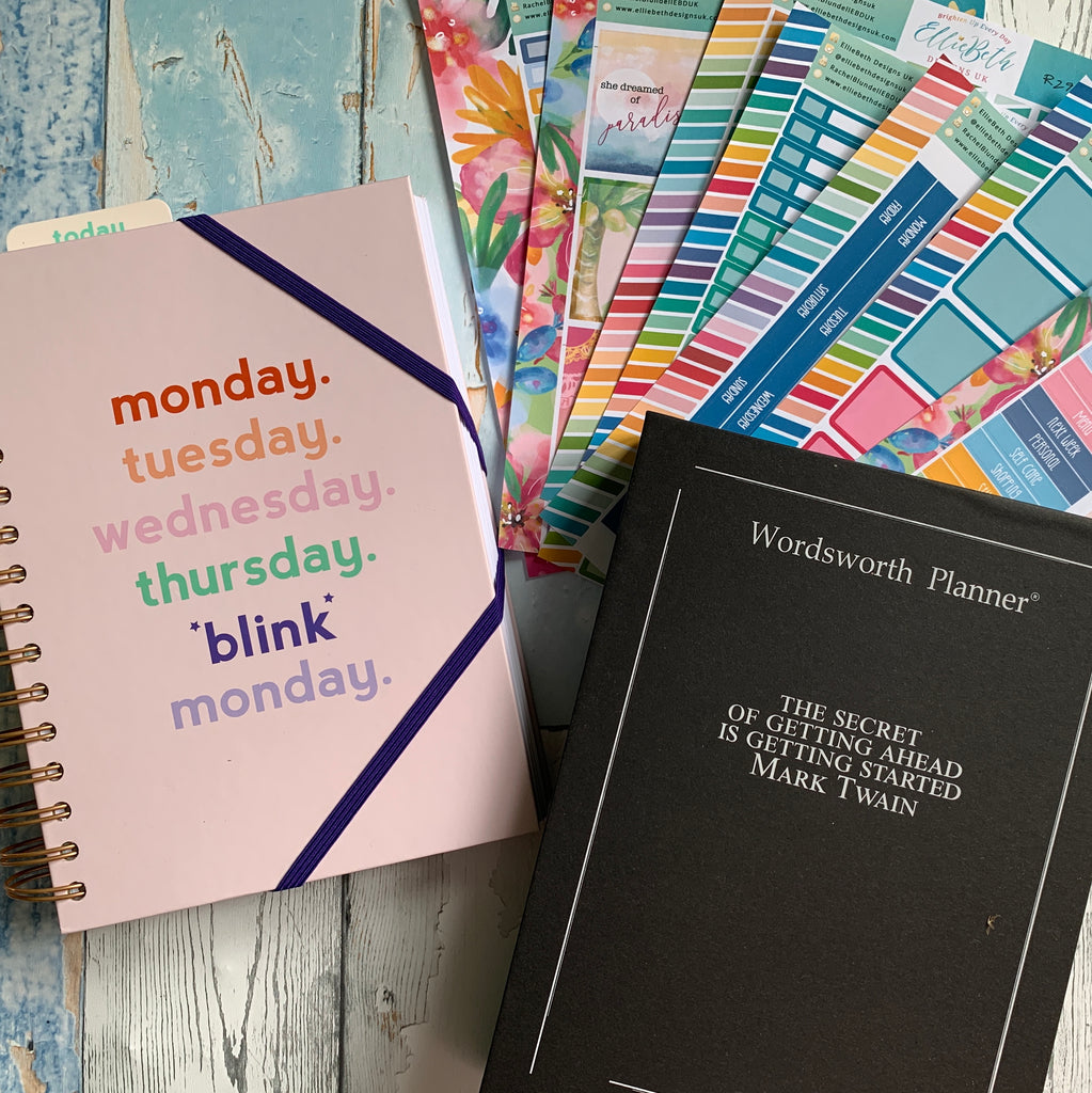 Yes Planner and Wordsworth Planner