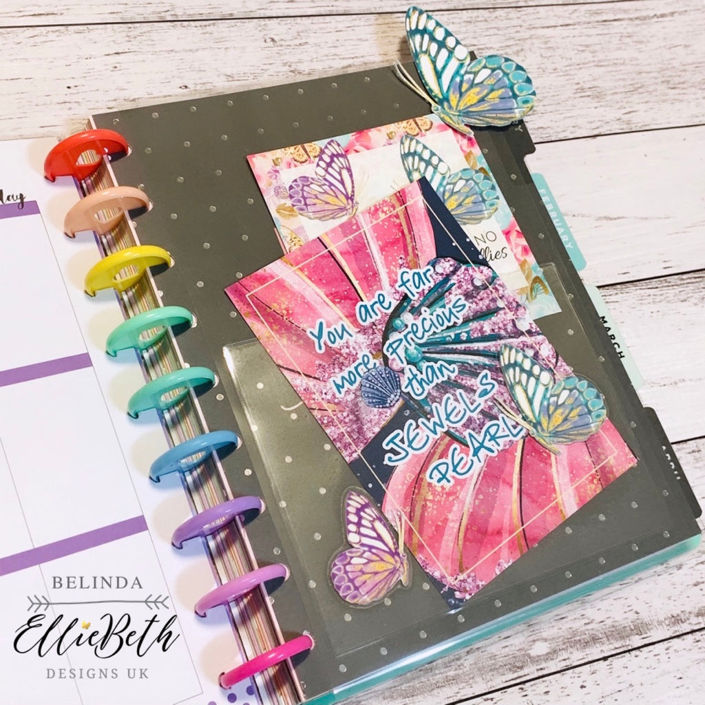 Happy Planner and butterflies
