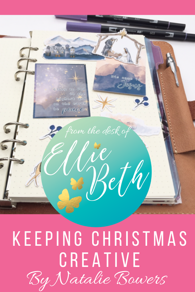 Christmas Planner with EBDUK stickers