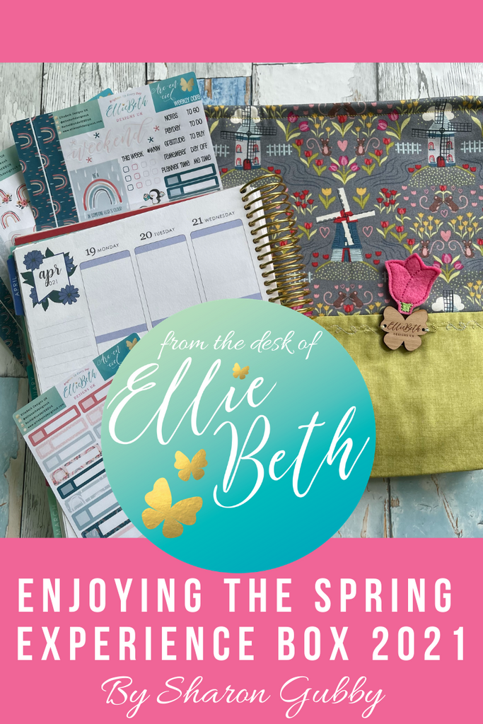 Spring Experience box from EBDUK and Chic Sparrow and EC planners
