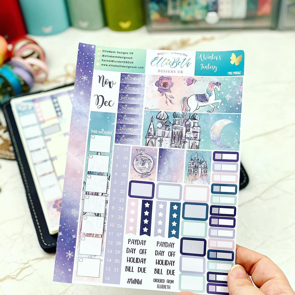 Hobonichi Weeks January kit