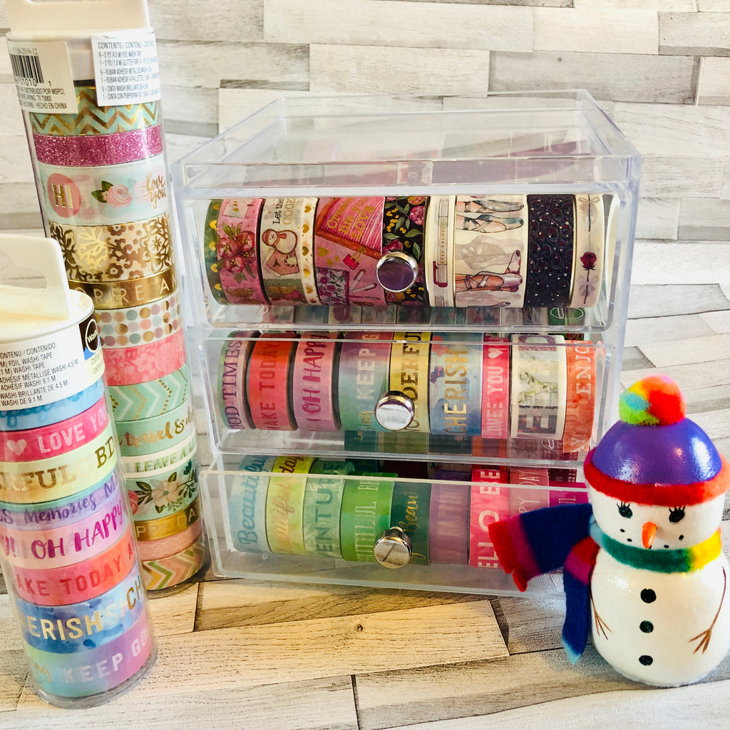 Washi tape galore - EllieBeth washi tape holder