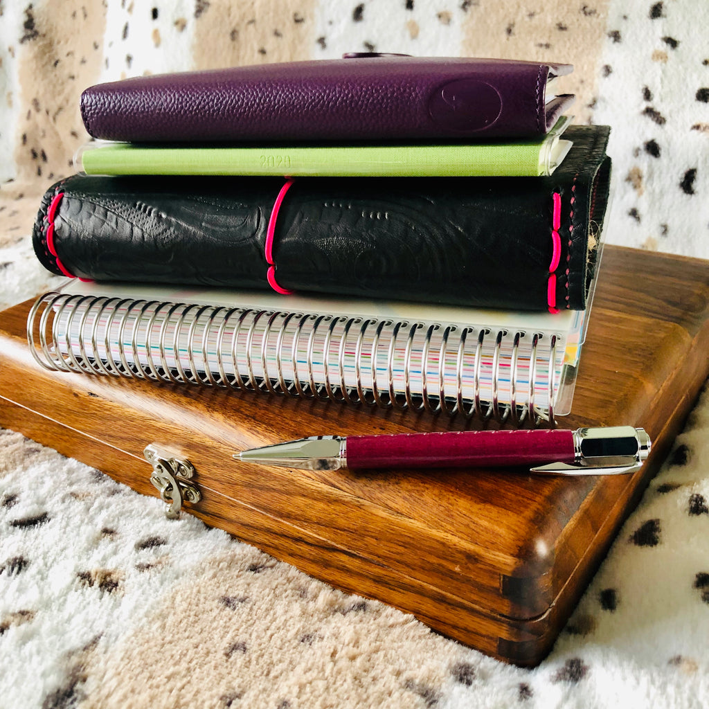 Travellers Notebook planner stack - Vic Walters