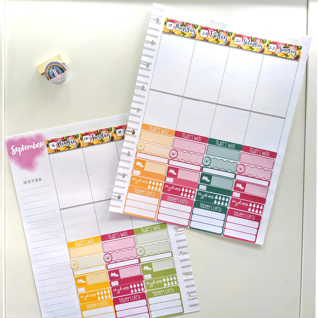Happy Planner - planning for health
