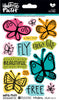 Fly Free Acrylic Stamp Set by Illustrated Faith - EllieBeth Designs UK
