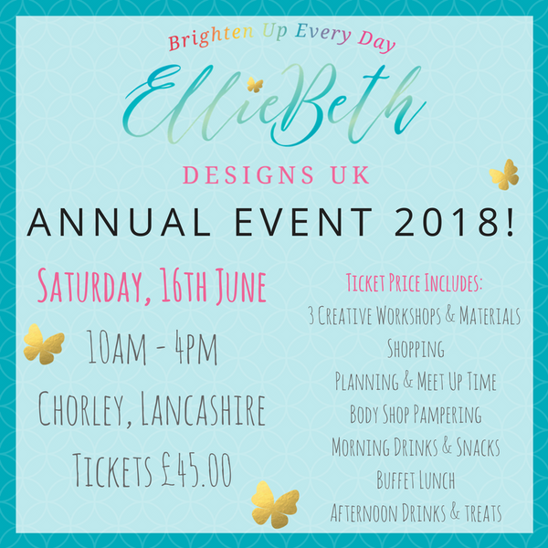 EBDUK Annual Event 2018 Ticket - please read in full!