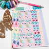 'Spread Your Wings' - Washi Strips -  A5 binder ready planner stickers