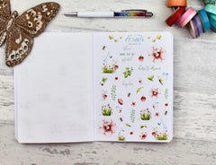 'Spring is Coming' - The EBDUK BIG Book of Stickerating - Planner Stickers! Made to Order item - EllieBeth Designs UK