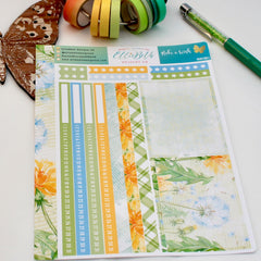 'Make a Wish' - Notes Page Kit -  A5 binder ready planner stickers - EllieBeth Designs UK