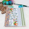 'Winter is Here - Arthur Returns!' - Washi Strips -  A5 binder ready planner stickers