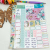 Fairy Magic - Mini Monthly (Hobonichi Weeks compatible) - A5 binder ready planner stickers