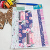 Eternal Love - Washi Strips -  A5 binder ready planner stickers