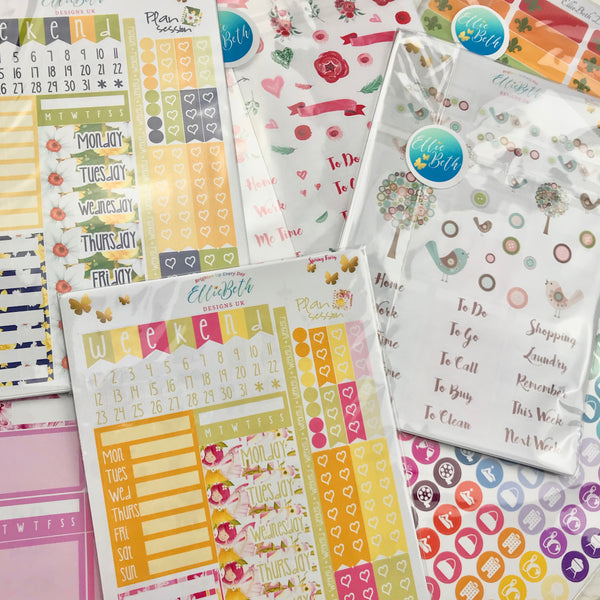 GRAB BAGS - up to 40% off planner stickers! No codes please...they're already a bargain!