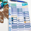 'His Name Shall Be' - Mixed Event Labels -  A5 binder ready planner stickers