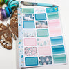 'It's Cold Outside' - Half Boxes -  A5 binder ready planner stickers