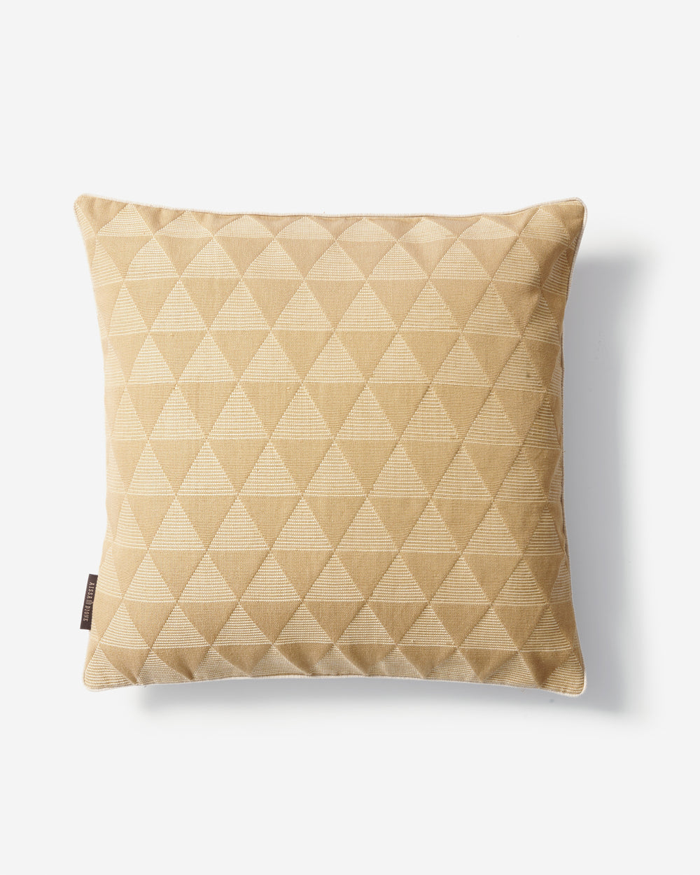 Luxury Hand-Woven Cushion – Kameroun Beige