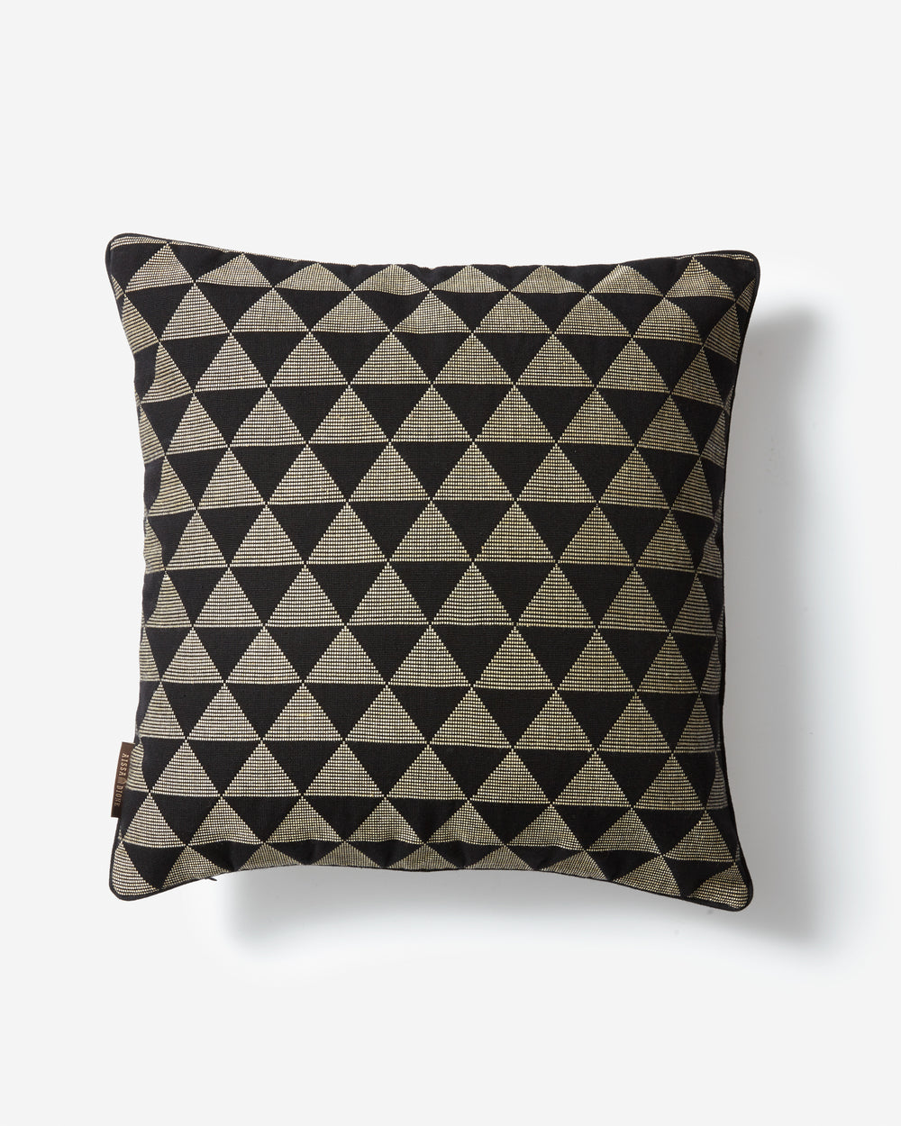 Luxury Hand-Woven Cushion – Kameroun Black