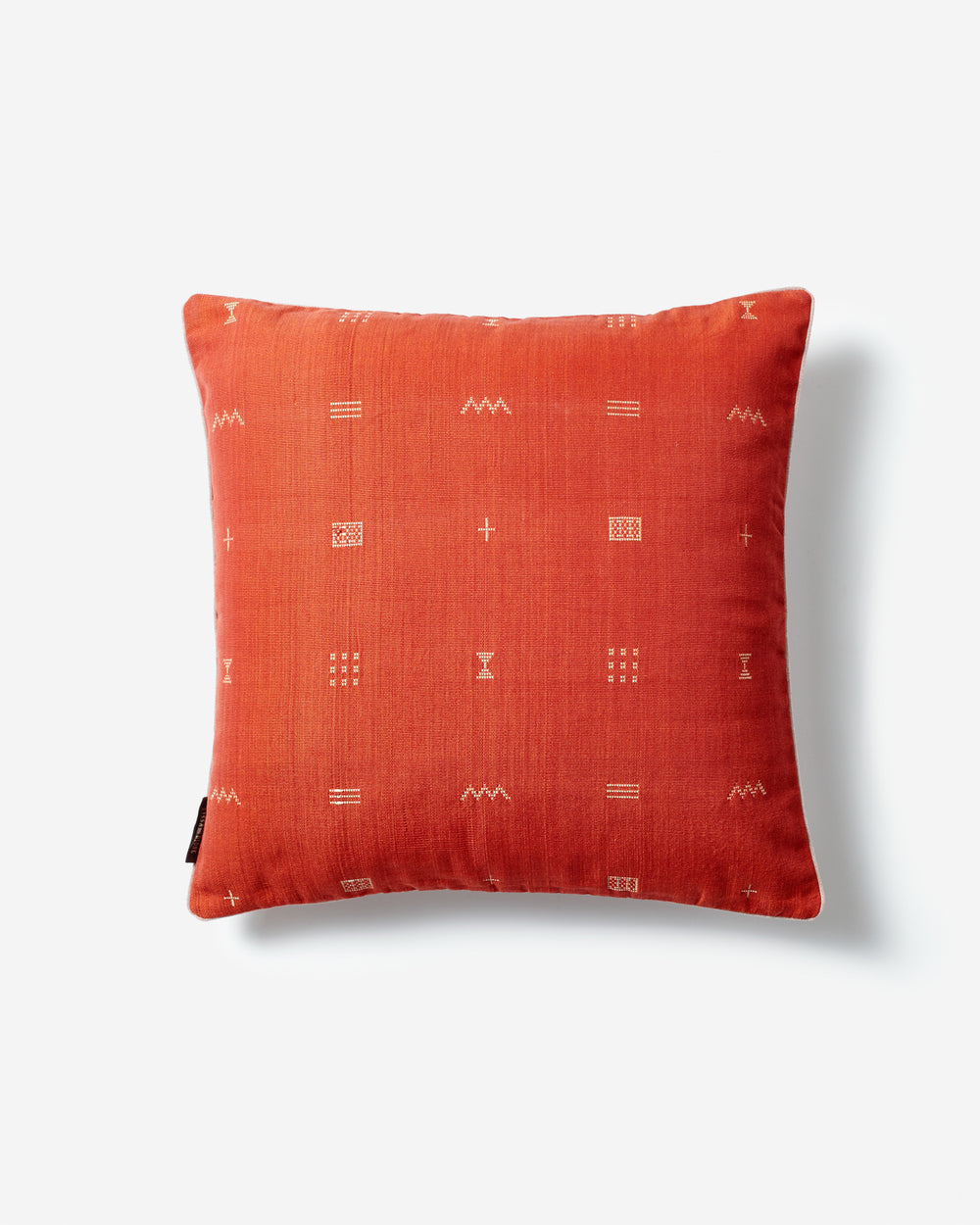 Luxury Hand-Woven Cushion – Bakel Red