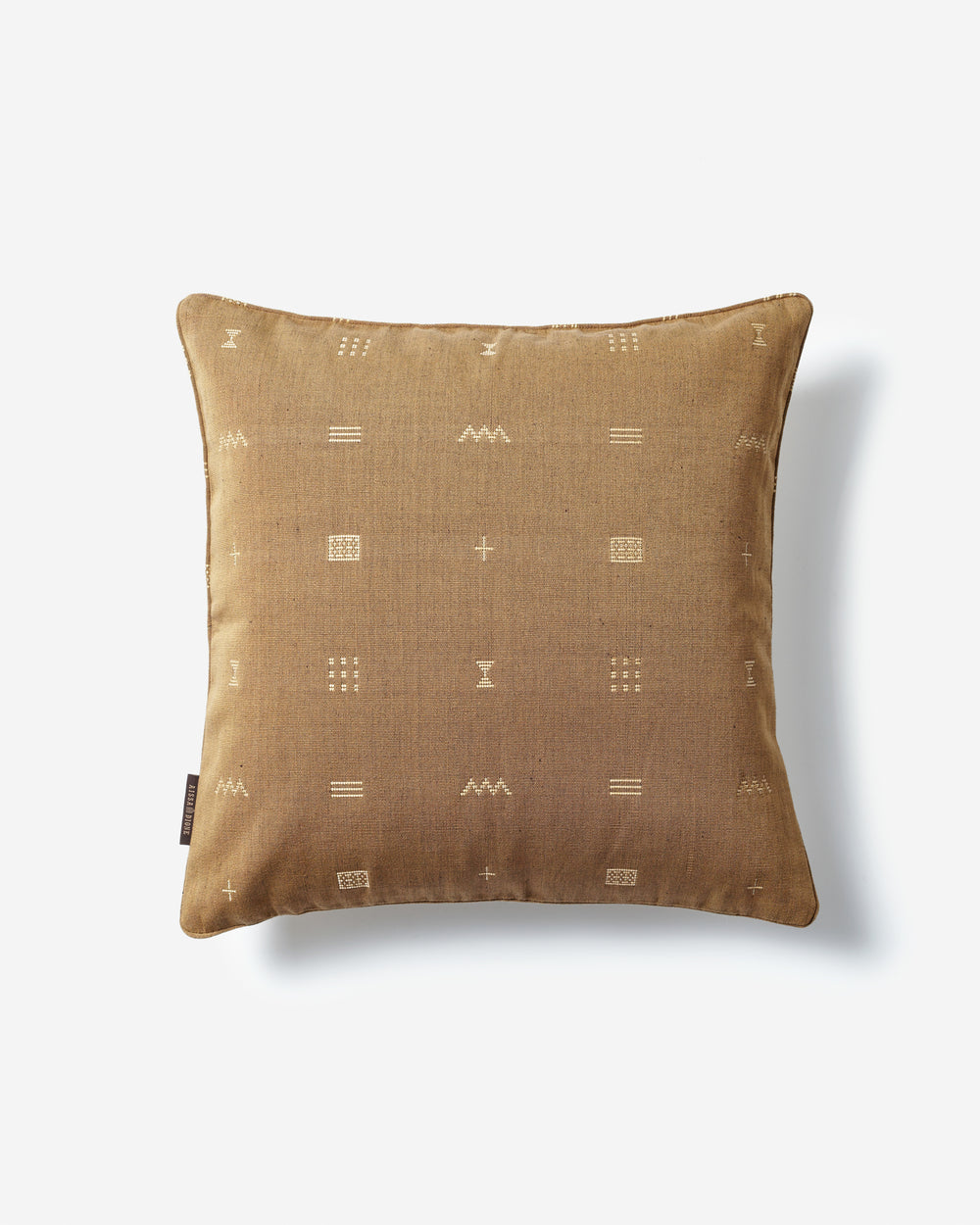 Luxury Hand-Woven Cushion – Bakel Beige