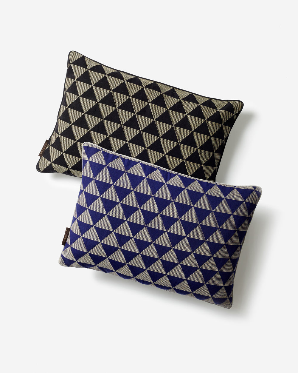 Luxury Hand-Woven Cushion – Kameroun Blue