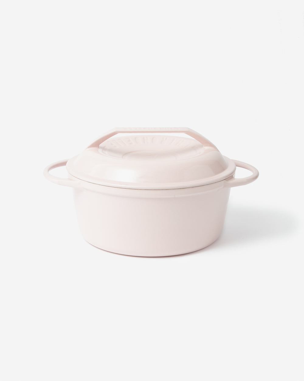 Stainless Steel Casserole Pot – Peach Enamel