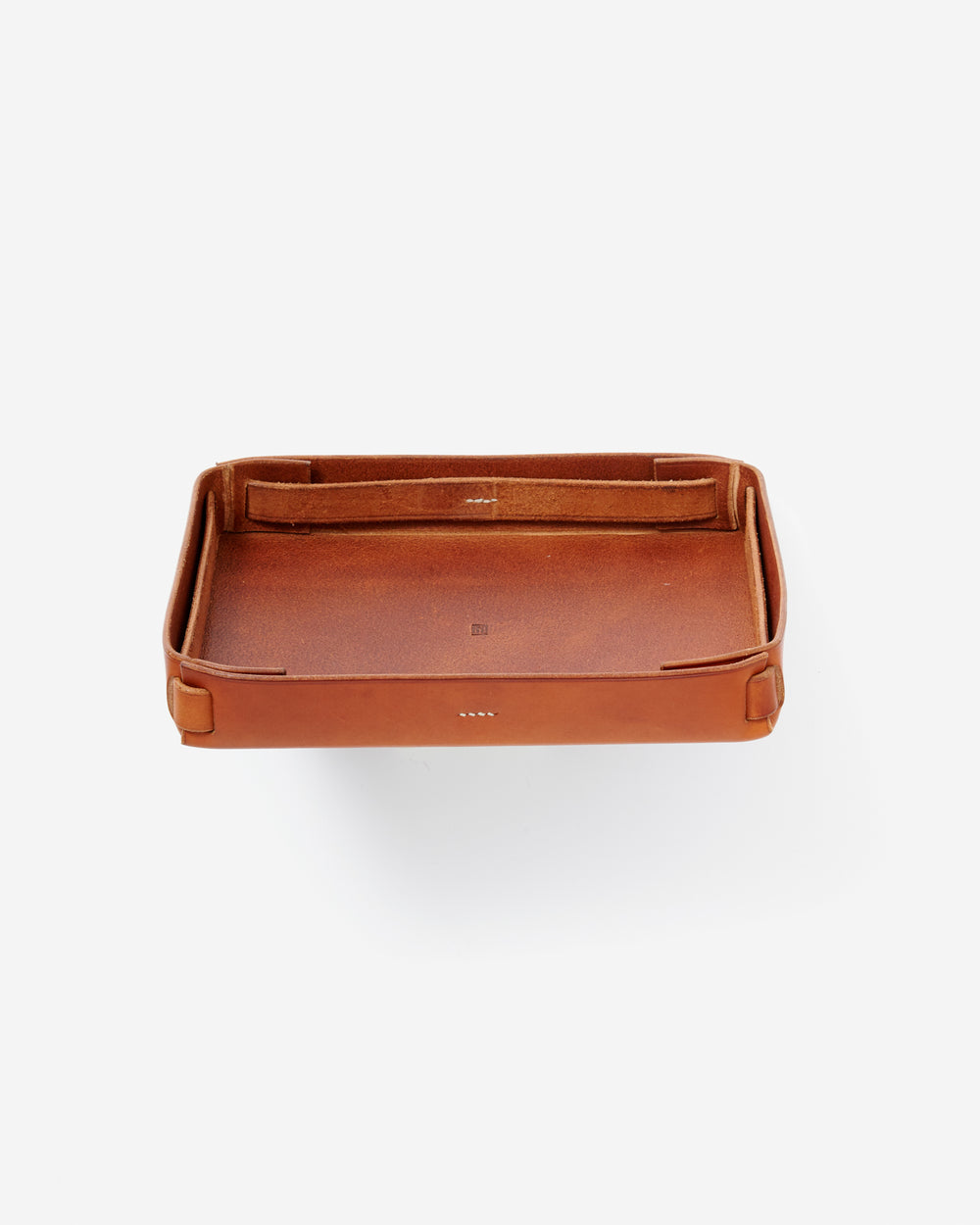 Hand-crafted Leather Storage Tray