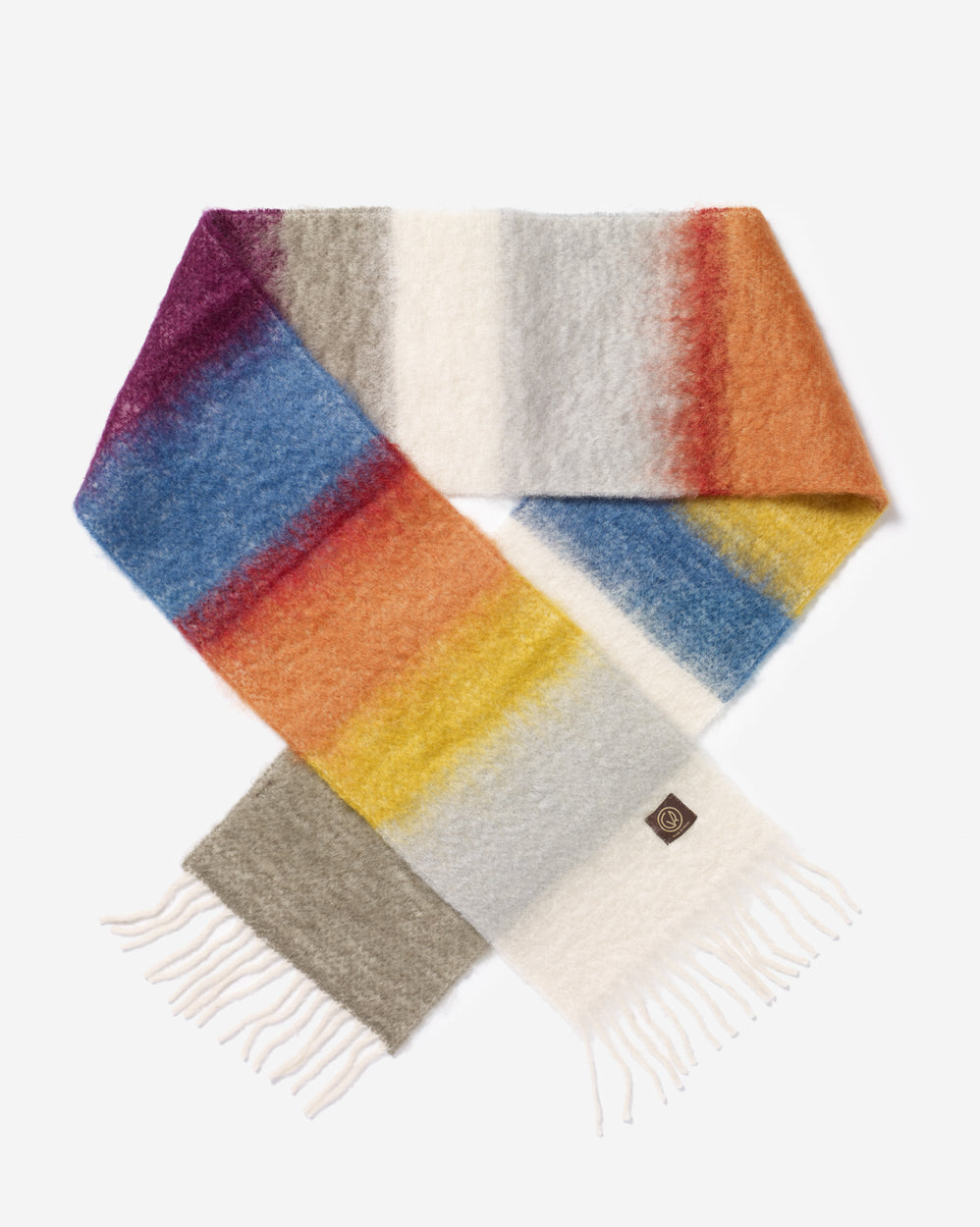 Exquisite Mohair & Wool Scarf
