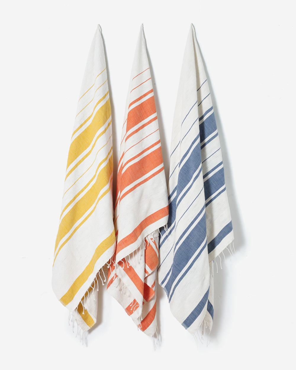 Hand-woven Beach Towel from Ethiopian Cotton
