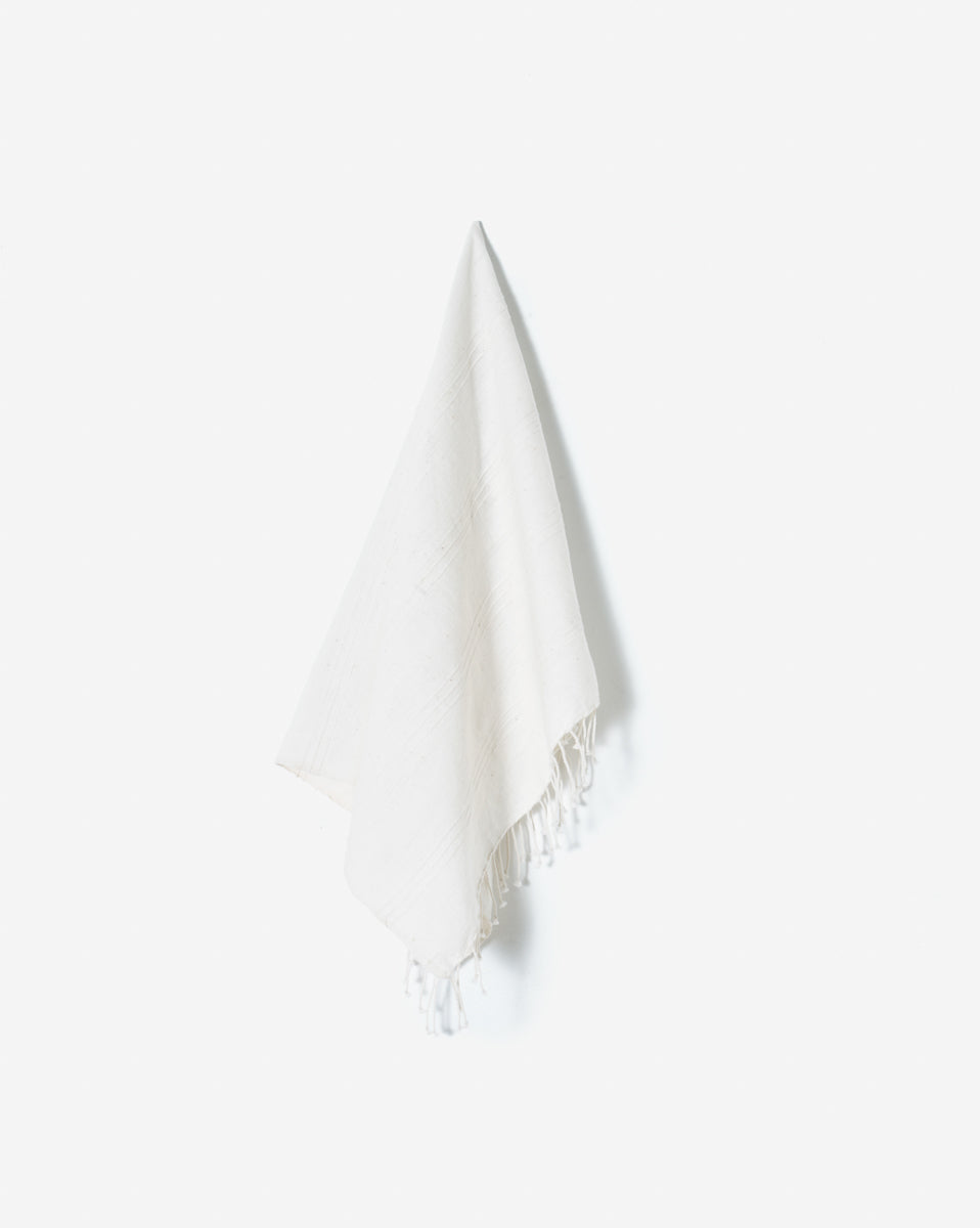 Hand-woven Hand Towel from Ethiopian Cotton