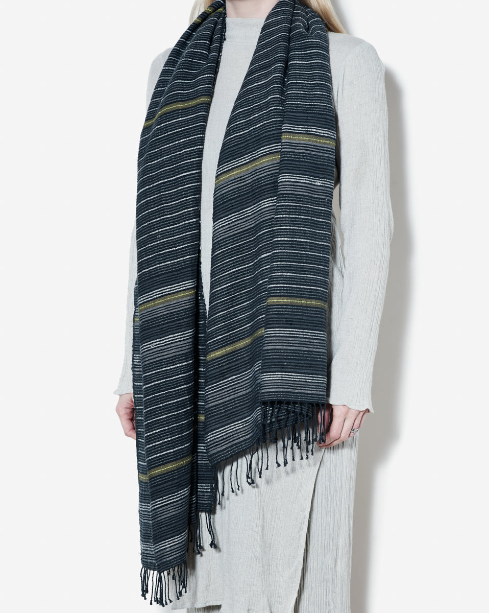 100% Organic Cotton Shawl Hand-Woven in Ethiopia