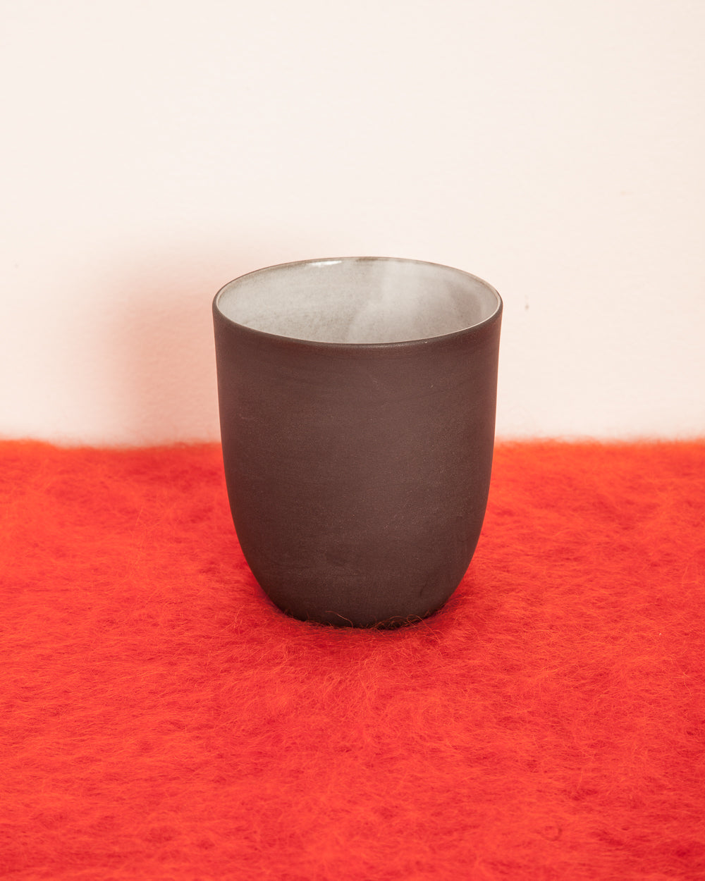 Black Clay Ceramic Tumbler