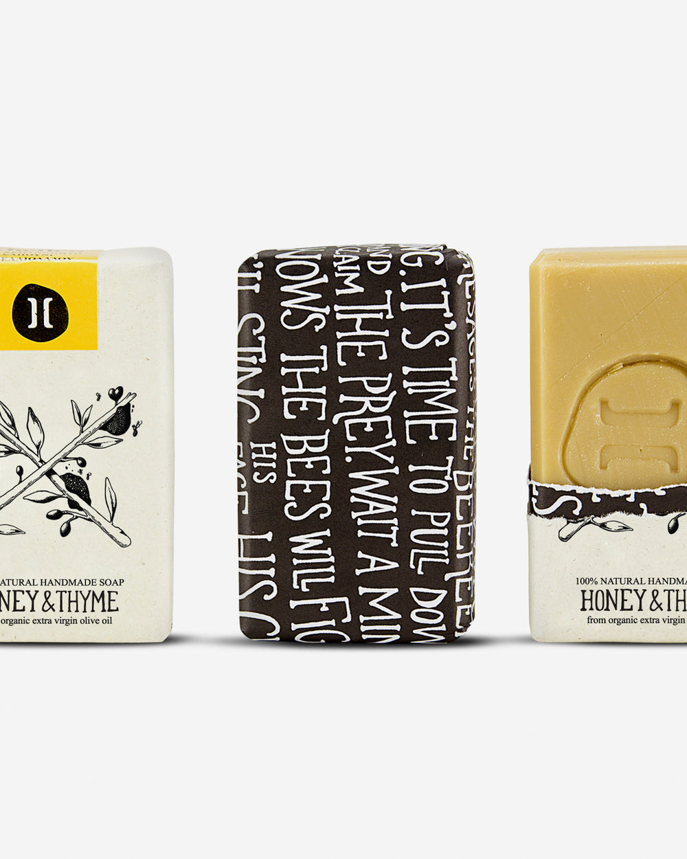 A 100% Natural Greek Olive Oil Soap – Honey & Thyme