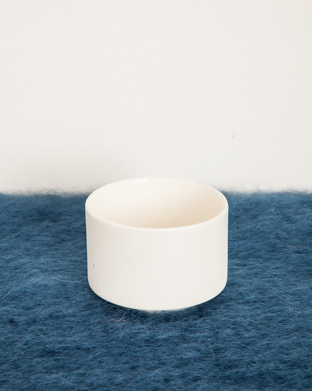 Tea bowl in Smooth White Ceramic