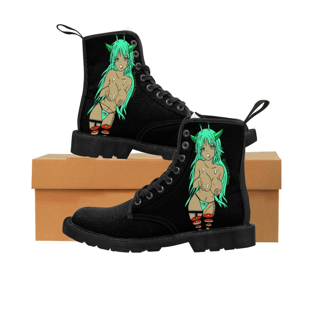 Celestial Slut Women's Canvas Boots