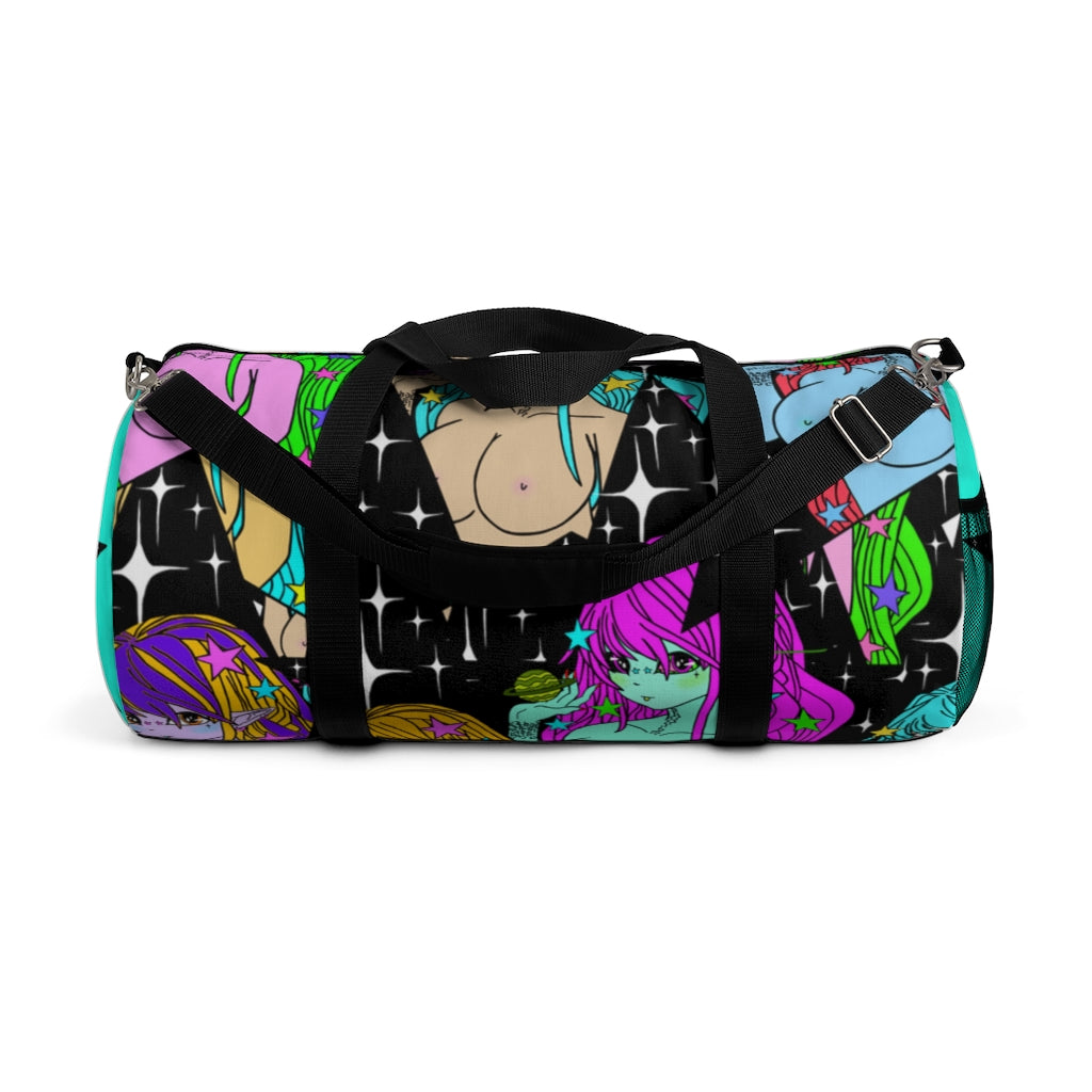 Cosmic Glitch Duffel Bag