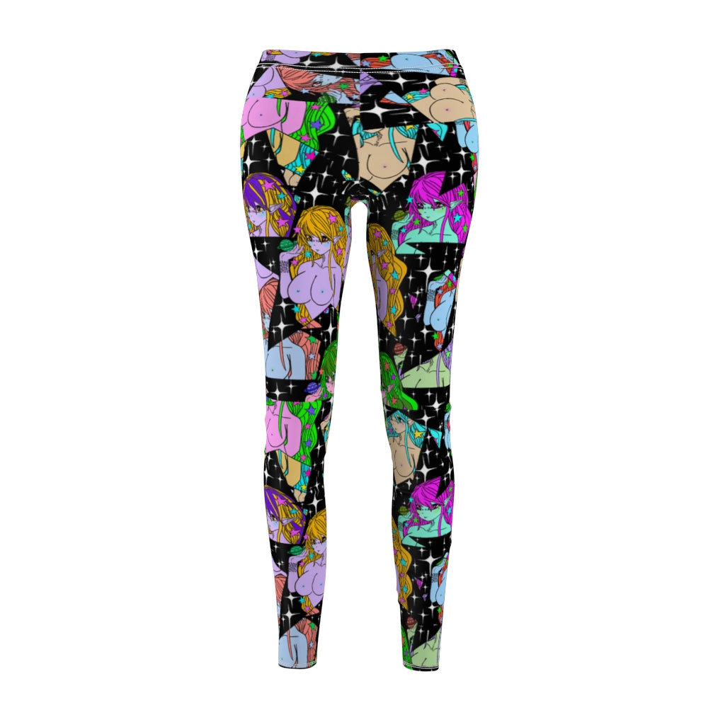 Cosmic Glitch Leggings
