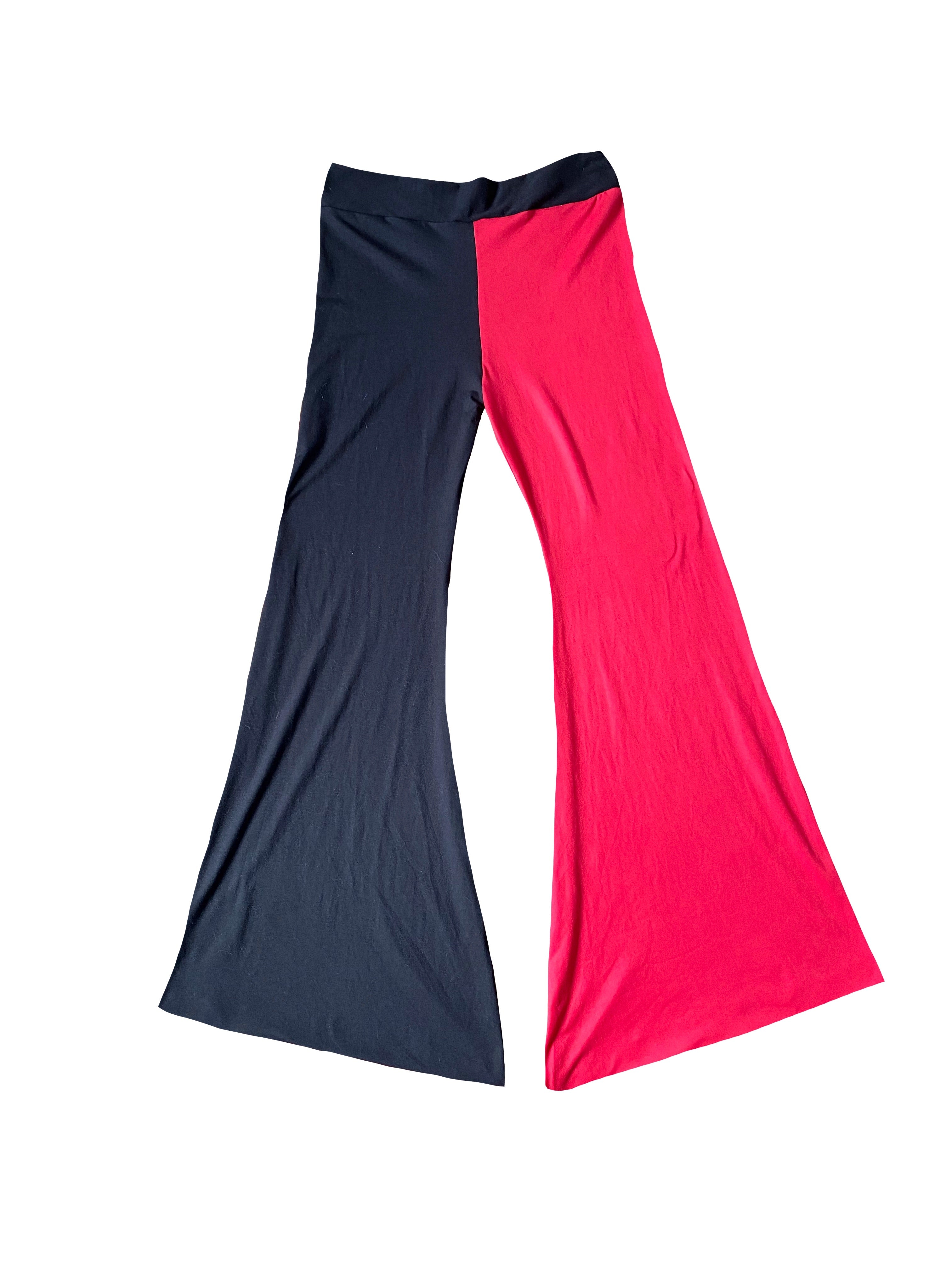 DevilSh Split Bell Bottoms  (Small)