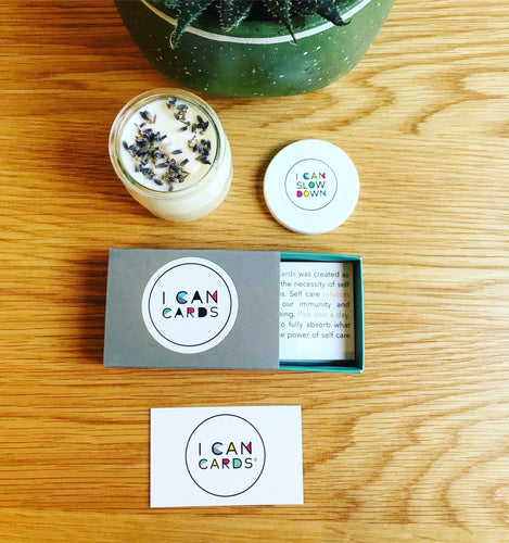I Can Cards® and 140ml Luxury Candle Set