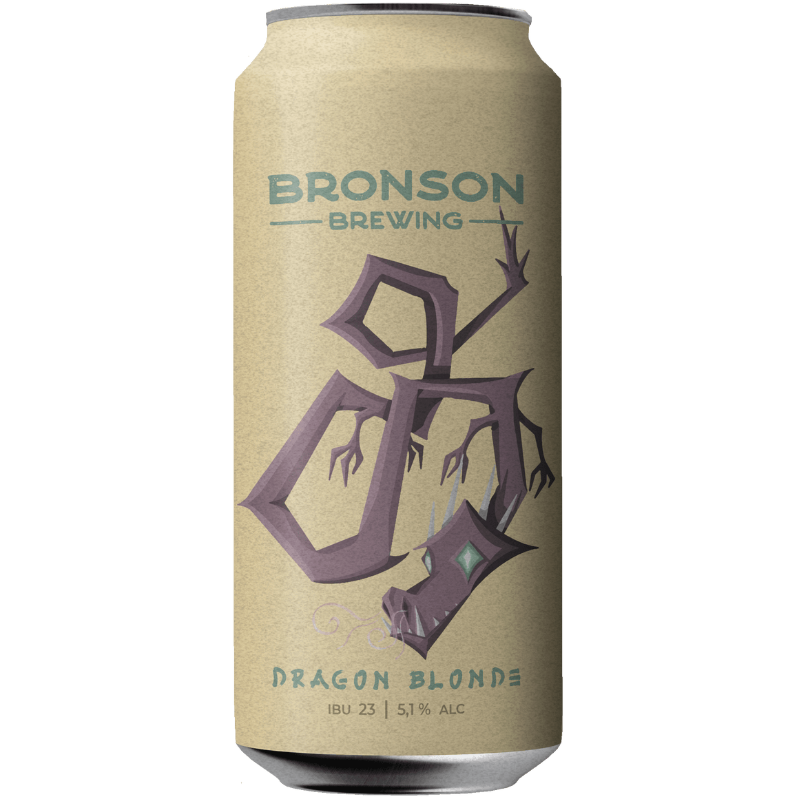 Bronson Dragon Blonde - Lata 473 cc.
