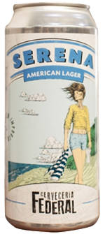 Federal American Lager - Lata 473cc.