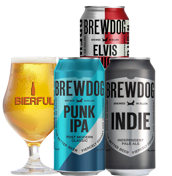 Pack de Cata Brewdog + Copa Vol. 1