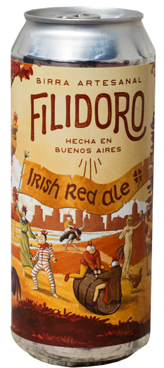 Filidoro Irish Red - Lata 473cc