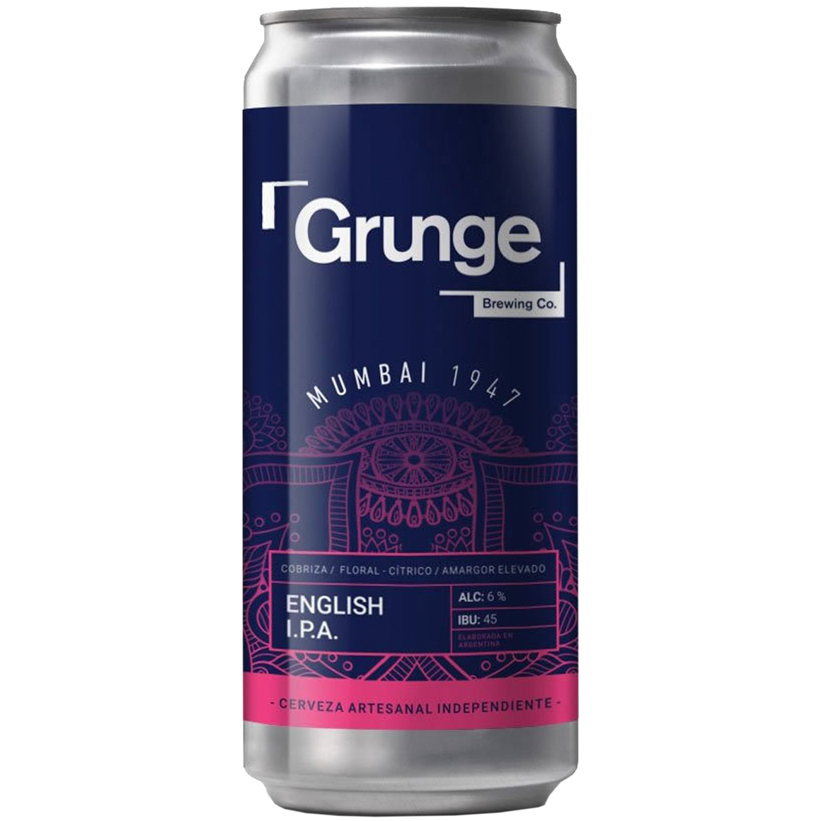 Grunge English IPA - Lata 473 cc.